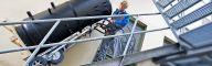 Transportar cargas de hasta 360 kg por escaleras con el LIFTKAR HD