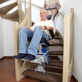 LIFTKAR PT con seguridad en las escaleras