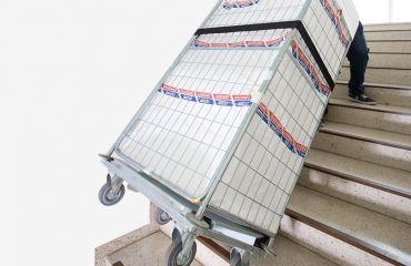 LIFTKAR HD Fijación de contenedores de lavandería