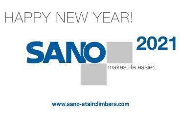 Feliz y prospero Año Nuevo 2021 -  eso le desea el equipo de SANO Austria