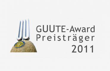 Premio GUUTE 2011, otorgado por la cámara de comercio de Alta Austria - Asociación GUUTE