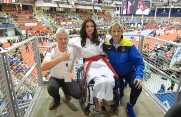 Patrocinador en el campeonato mundial de karate 2016