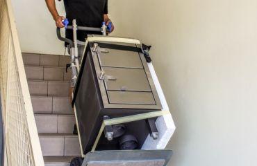 LIFTKAR sube-escaleras eléctrico para transportar carga pesadas