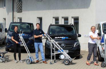 Salvaescaleras LIFTKAR para transporte de carga | para movilidad sobre escaleras y caminos