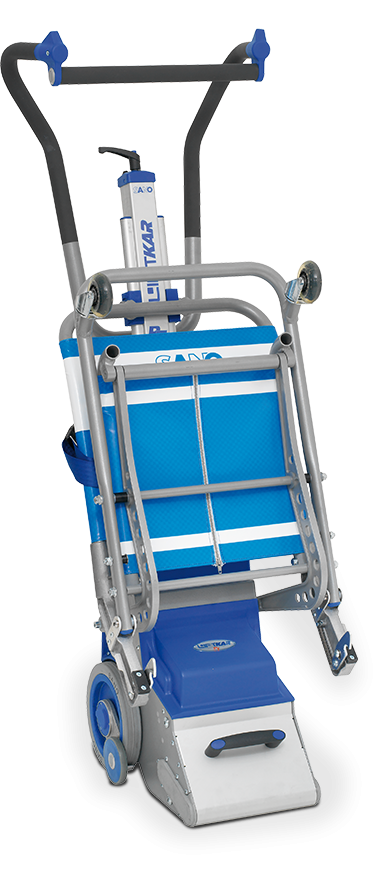 El sube-escaleras eléctrico LIFTKAR PT Fold