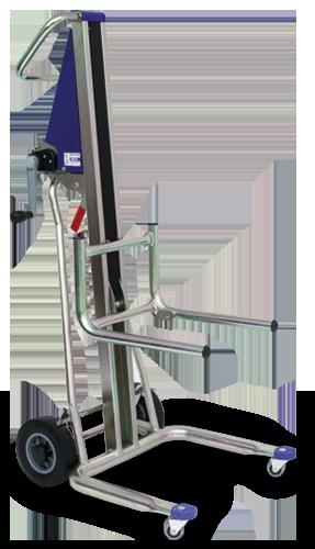 La carretilla elevadora manual UNIKAR UNIKAR para cargas de hasta 120 kg
