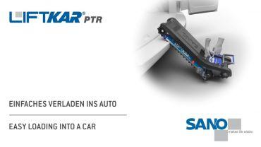 LIFTKAR PTR oruga subeescaleras - fácil de poner en un coche