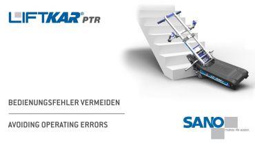 LIFTKAR PTR oruga subeescaleras - evitar errores operativos