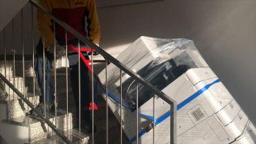 LIFTKAR MTK sube-escaleras eléctricos para transportar fotocopiadoras