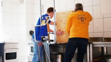 Unikar carretilla de elevación manual para apicultura